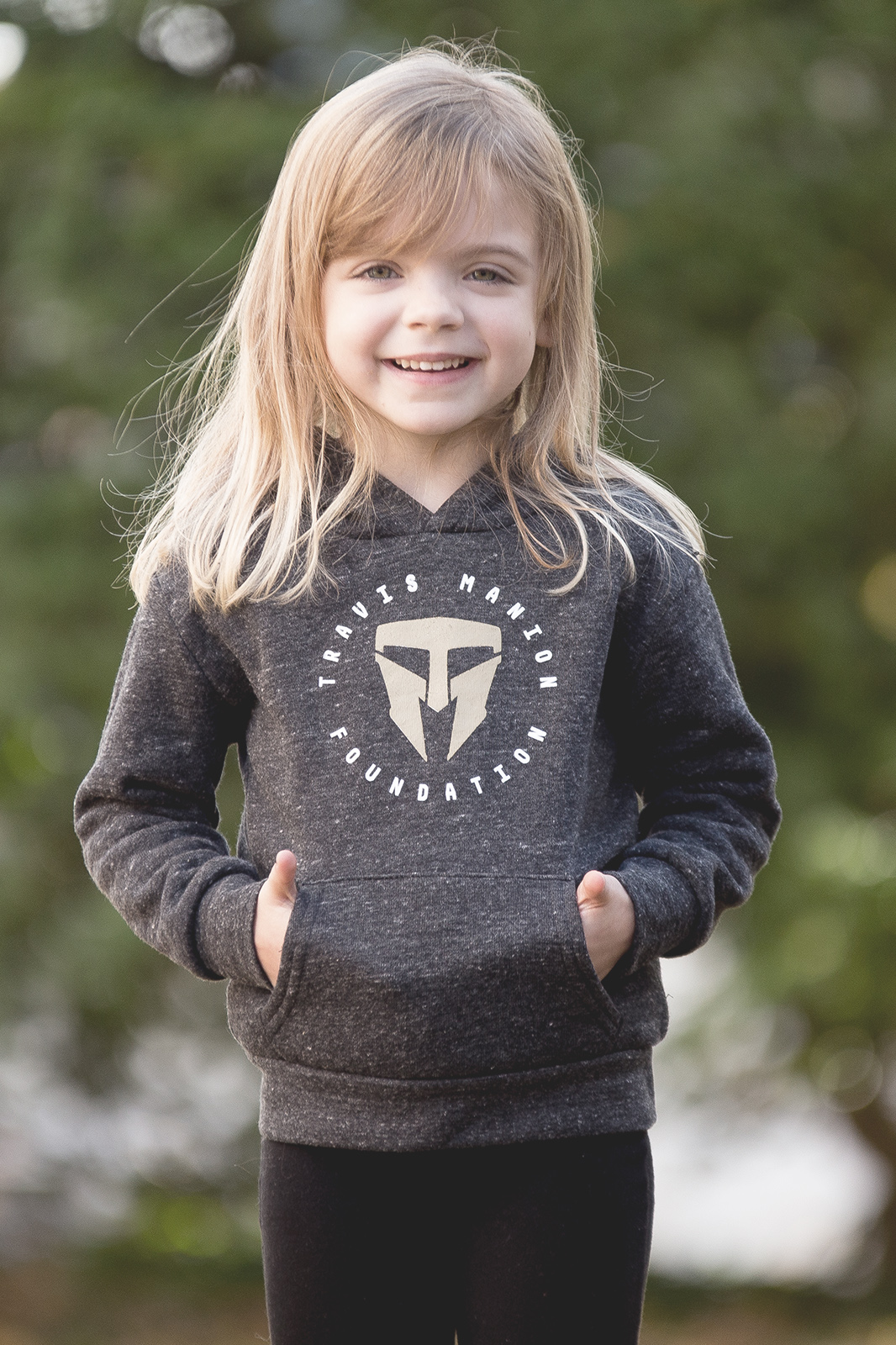 TMF Royal Apparel Dark Gray Toddler/Youth Hoodie