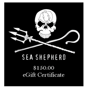 Sea Shepherd $150 eGift Certificate