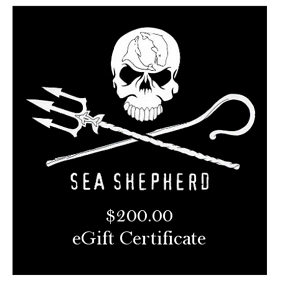 Sea Shepherd $200 eGift Certificate