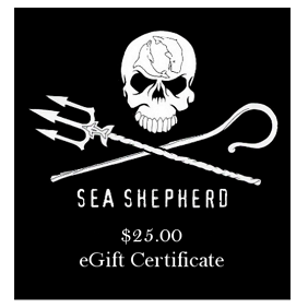 Sea Shepherd $25 eGift Certificate