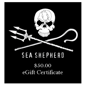 Sea Shepherd $50 eGift Certificate