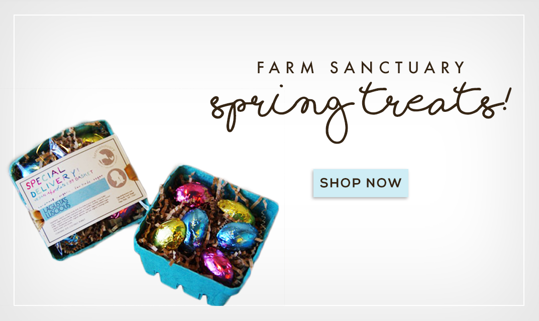 Farm Sanctuary Spring Treats