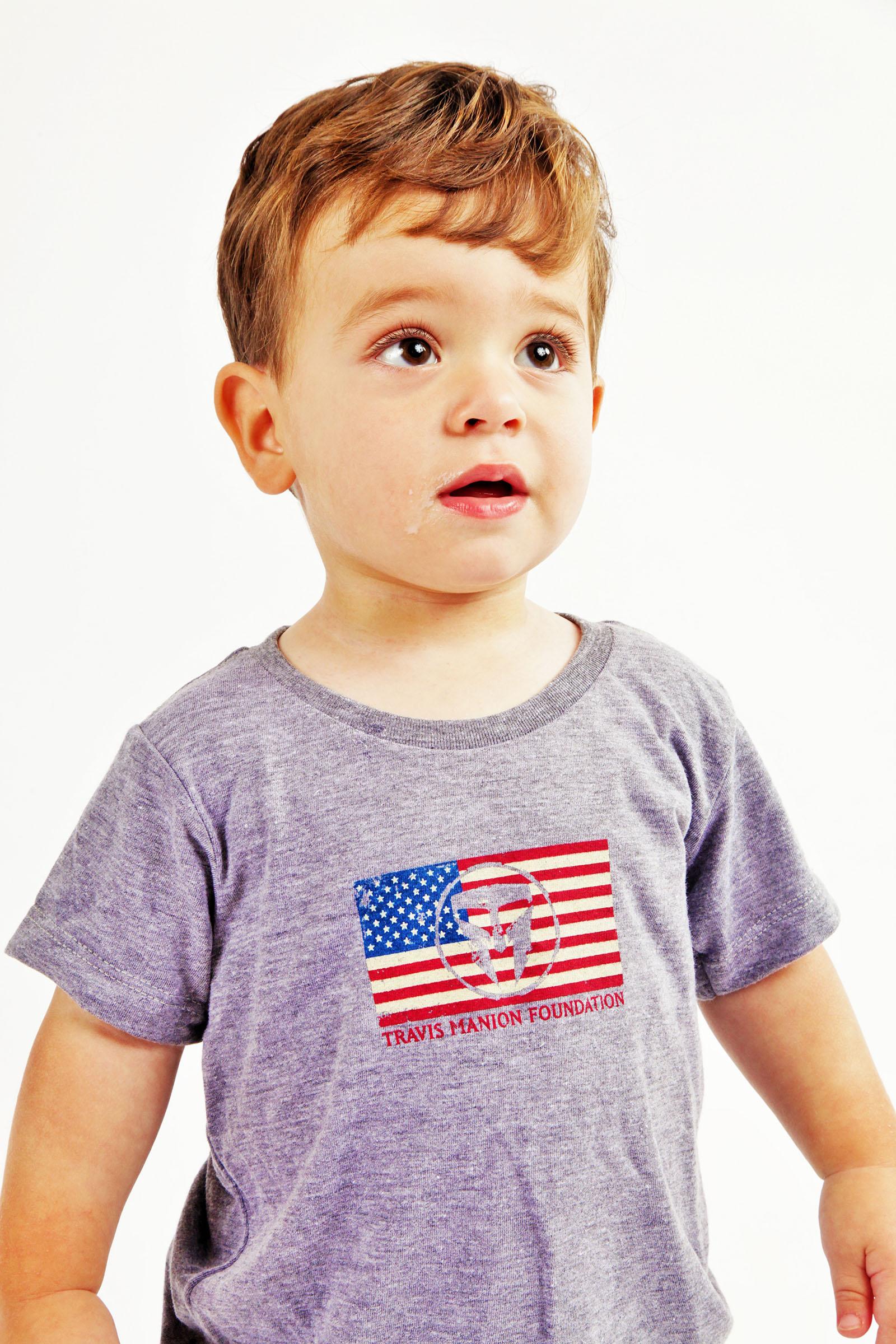 Unisex Infant TMF Flag Tee