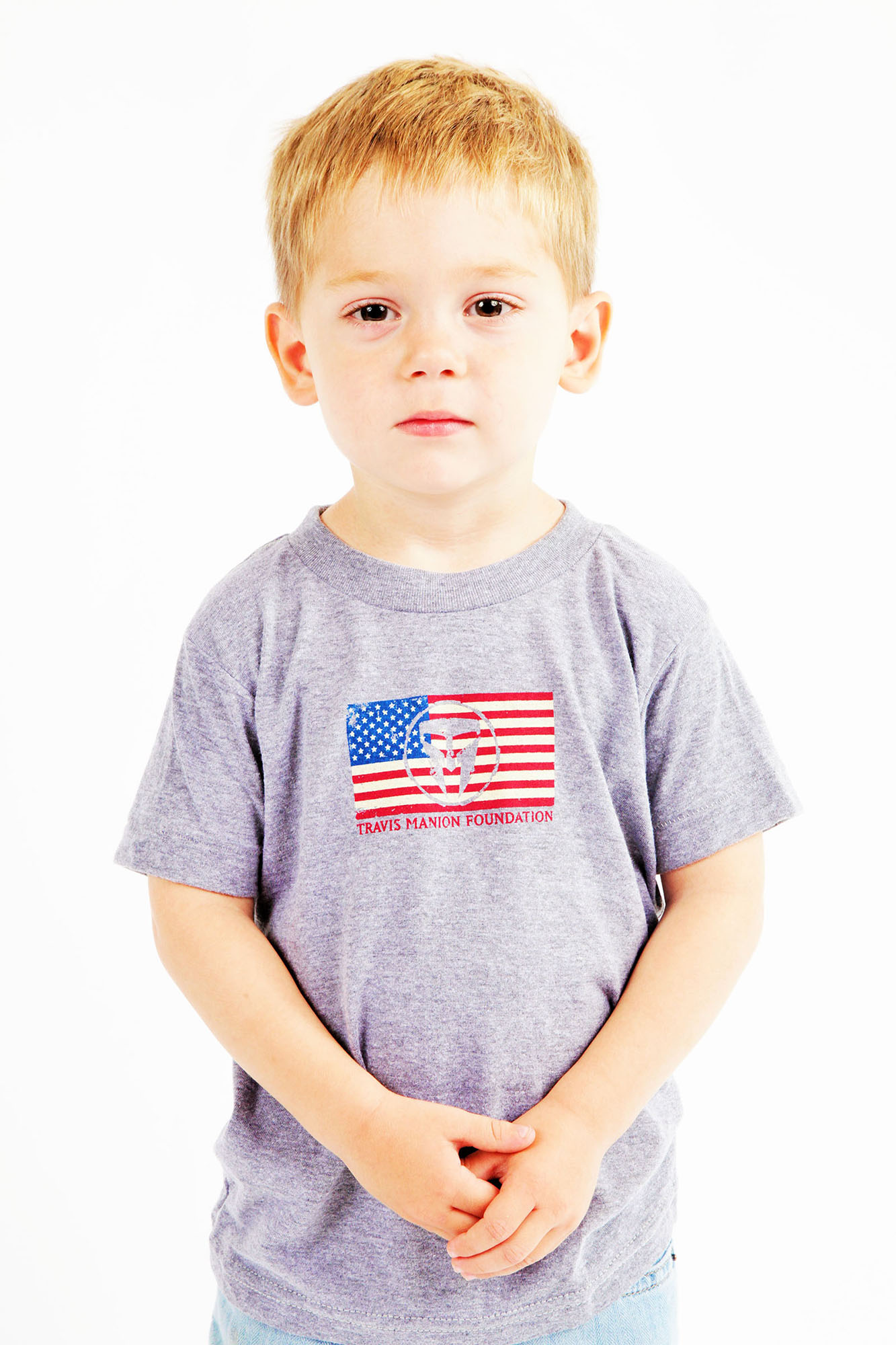 Travis Manion Foundation Unisex Kids TMF Flag Tee
