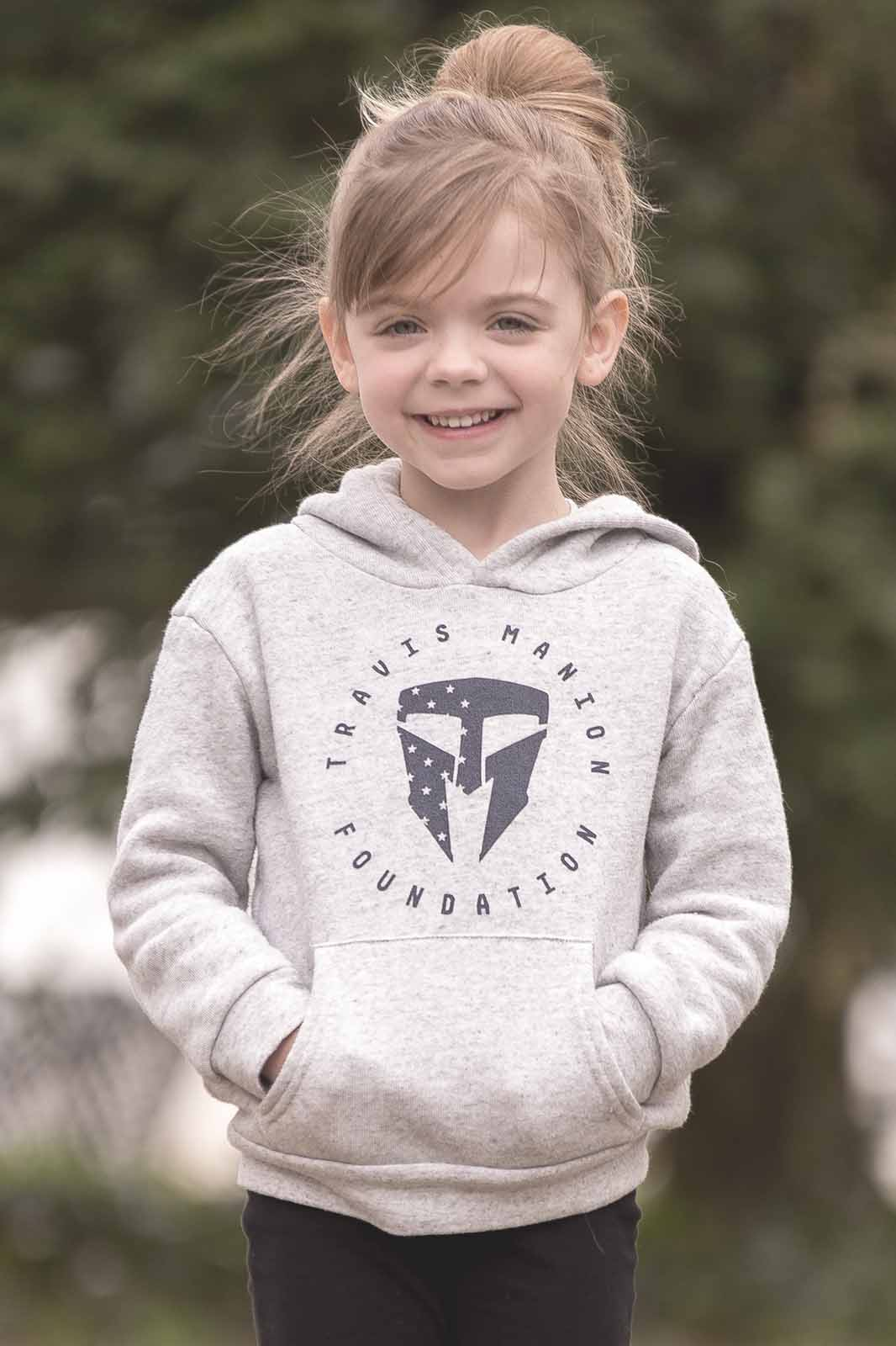 Travis Manion Foundation Toddler Triblend Fleece Pullover Hoodie