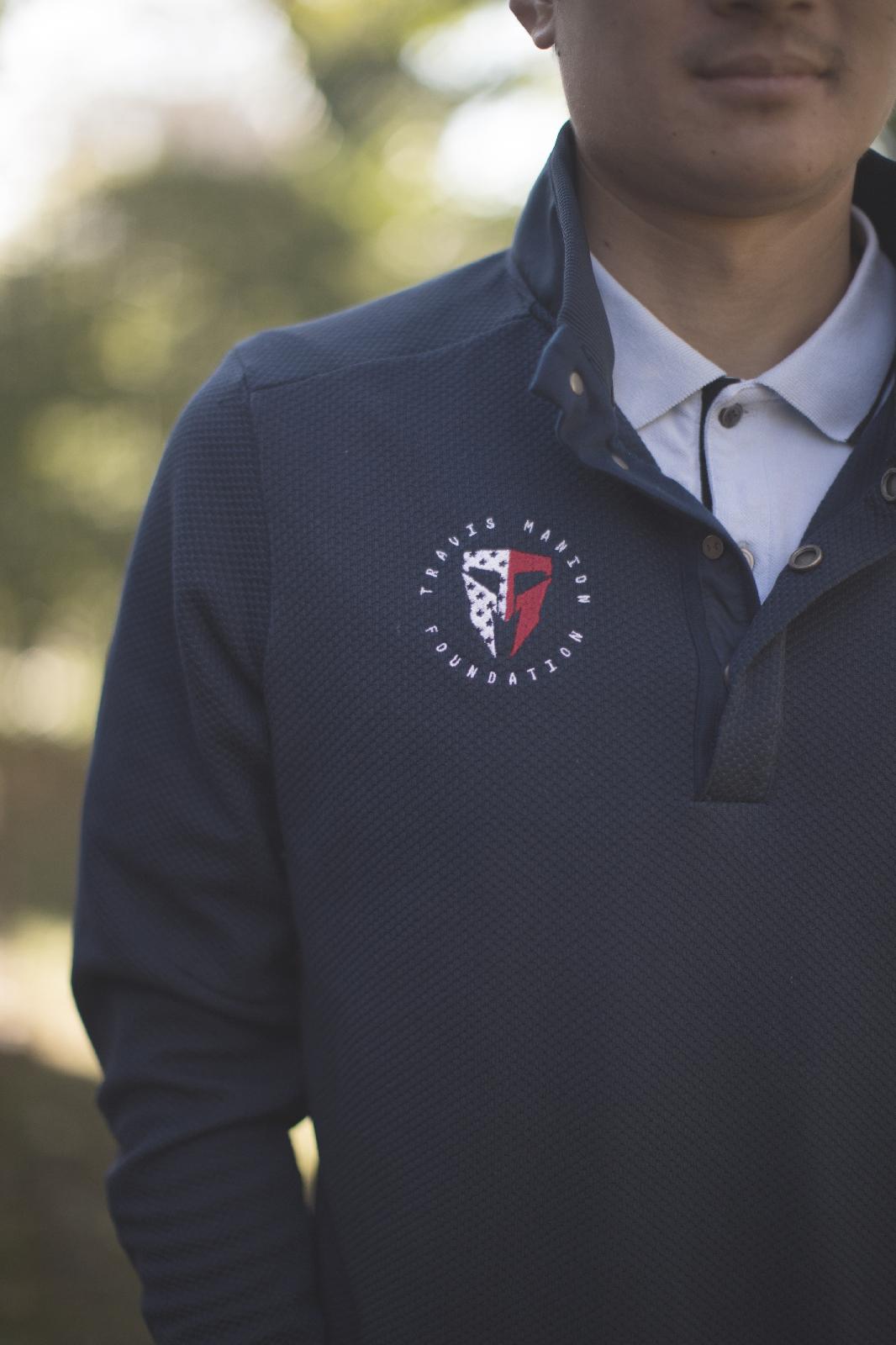 Travis Manion Foundation UA Storm Sweater Fleece Snap