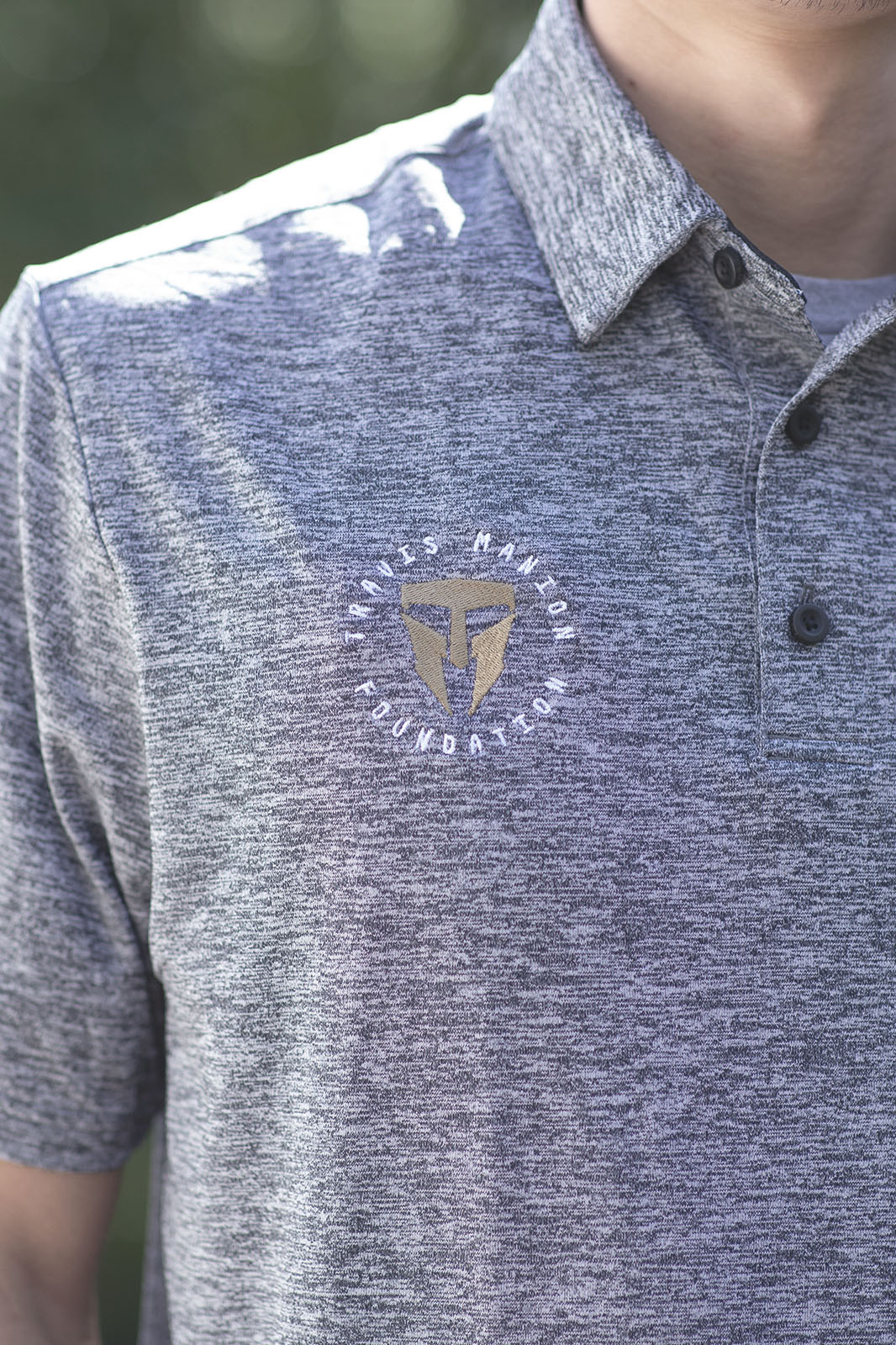 Travis Manion Foundation UA playoff polo 2.0