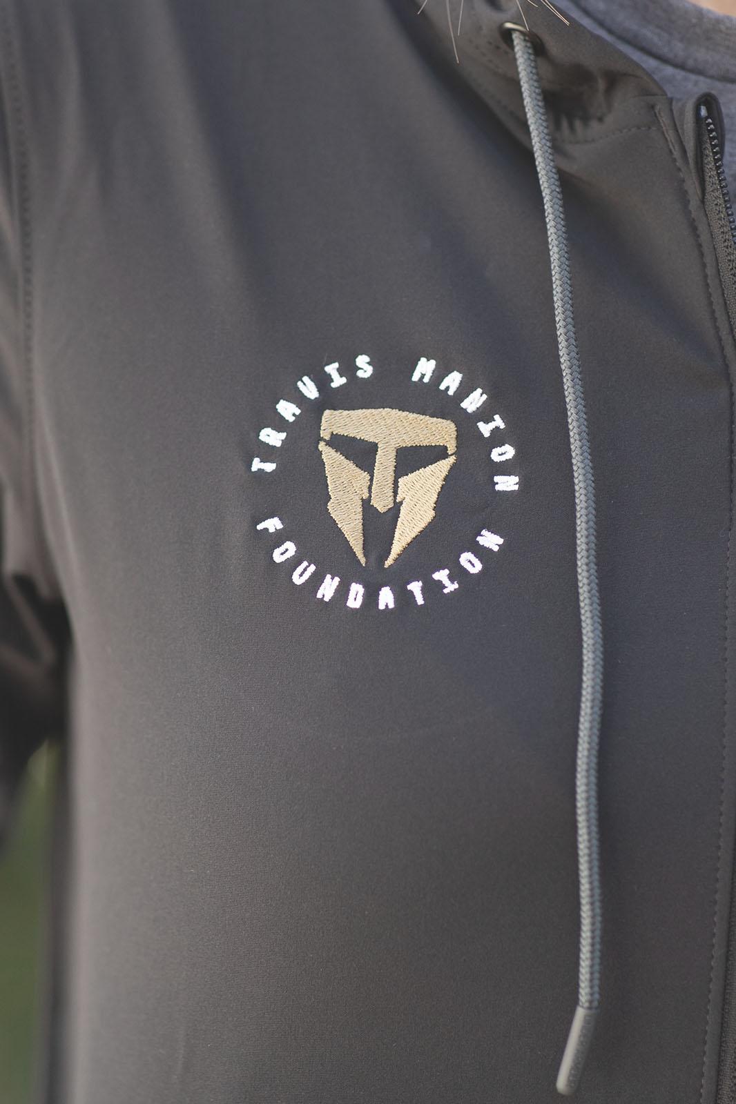 Travis Manion Foundation UA Womens Squad jacket- Black