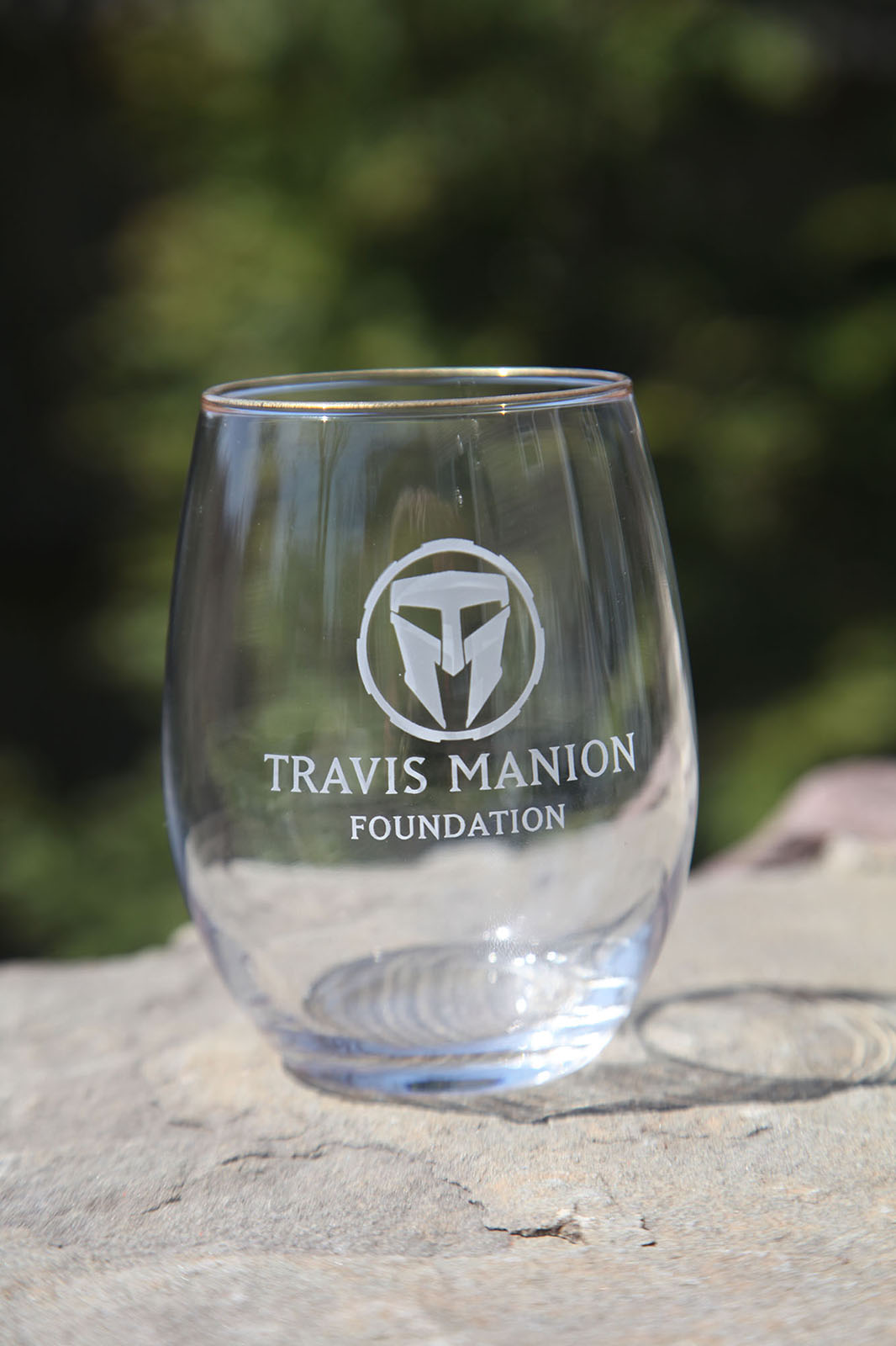 Travis Manion Foundation Wine Glass