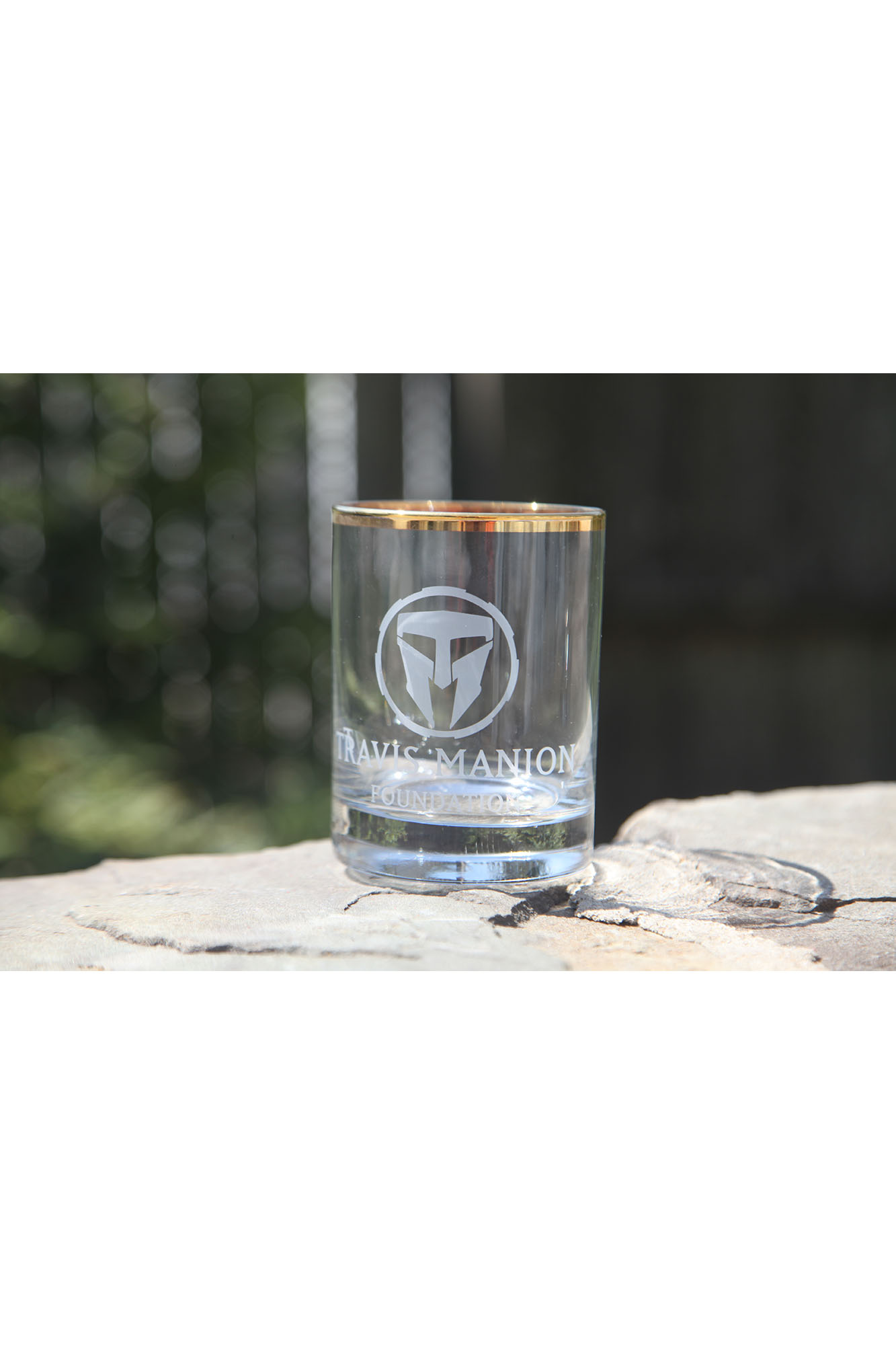 Travis Manion Foundation Whiskey Glass