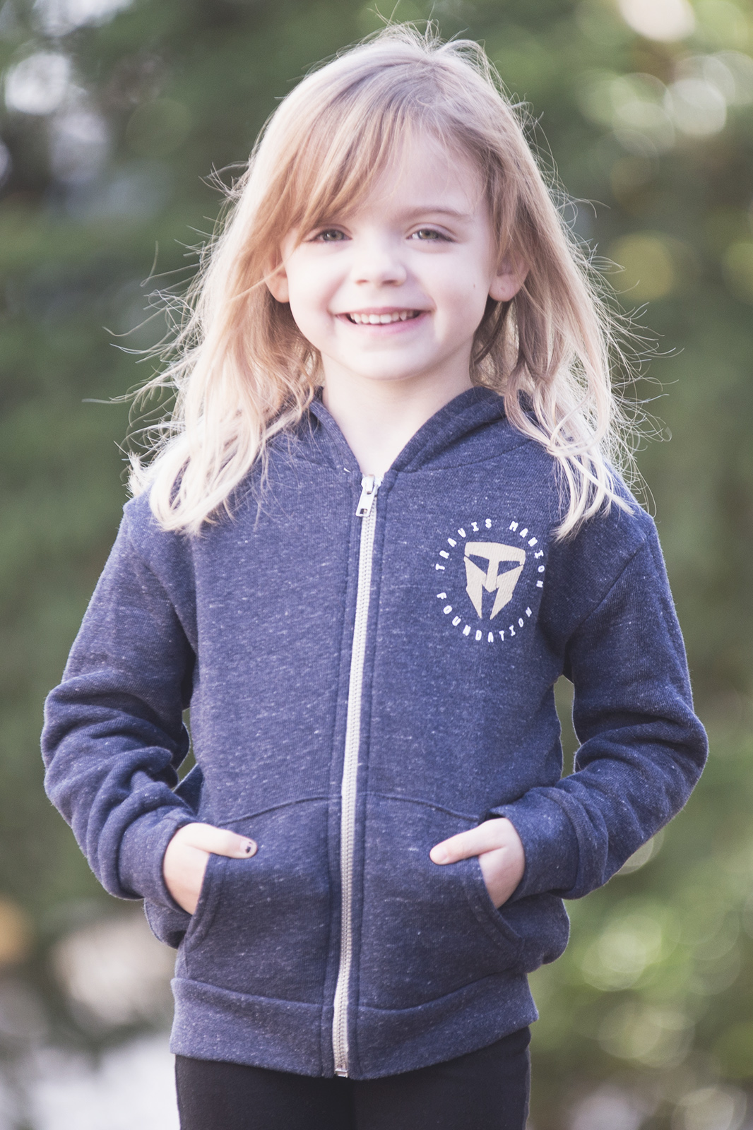 TMF Royal Apparel Navy Blue Toddler/Youth Zip Up Hoodie