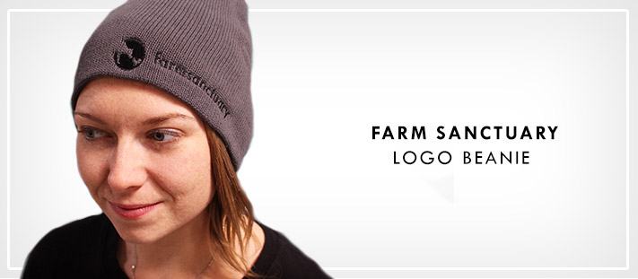 Farm Sanctuary Logo Beanie