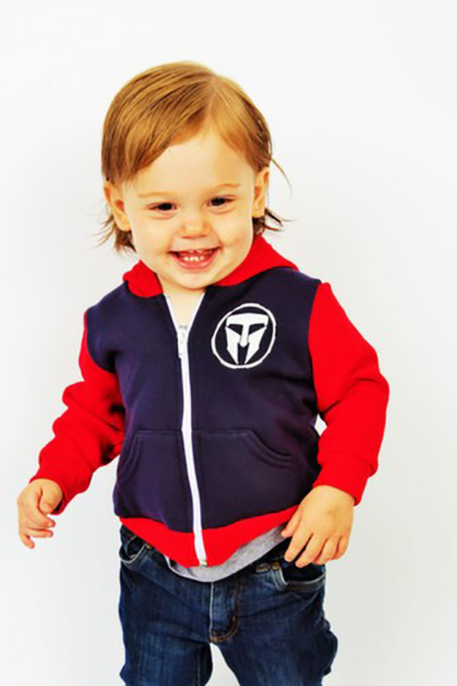 Unisex Infant TMF Logo Full Zip Hoodie - Made in USA
