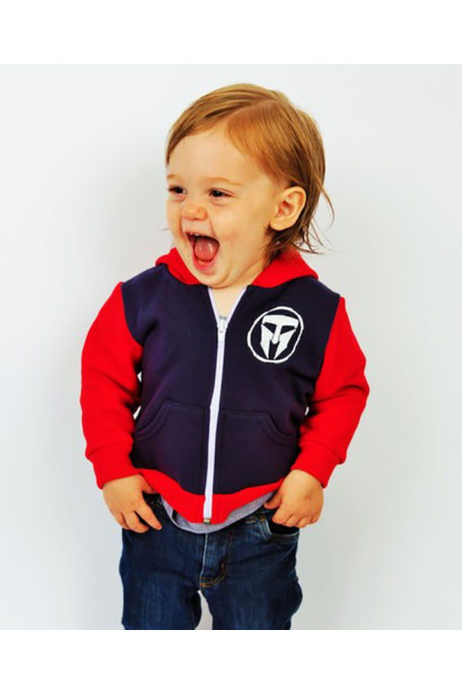 Unisex Infant TMF Logo Full Zip Hoodie - Made in USA