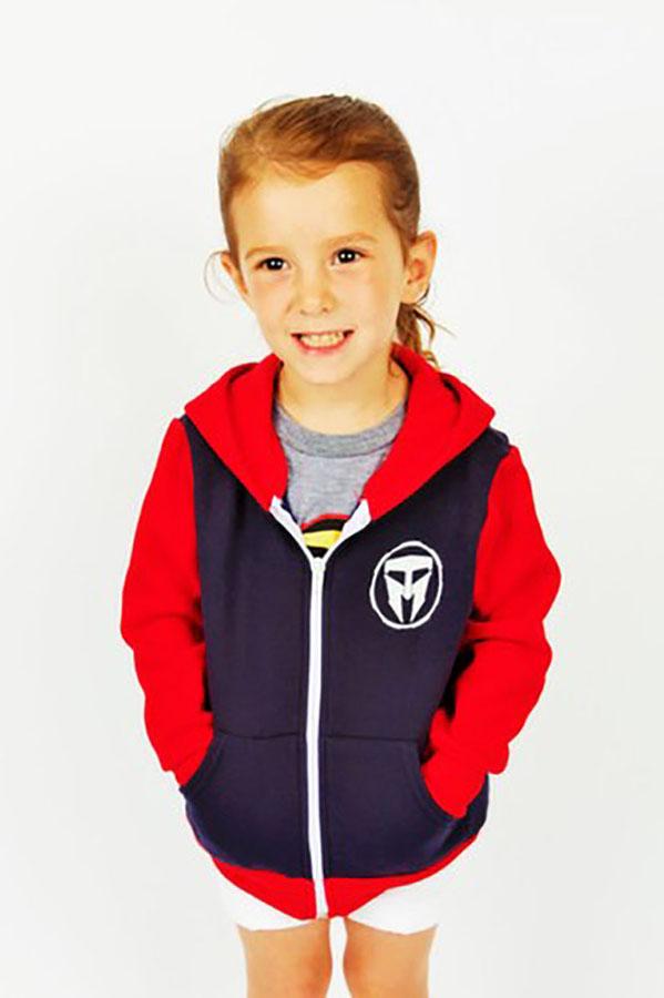 Unisex Kids TMF Logo full Zip Hoodie Made in USA