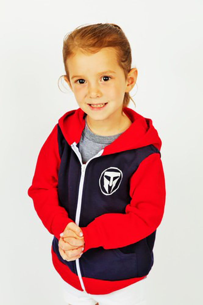 Unisex Kids TMF Logo full Zip Hoodie Made in USA