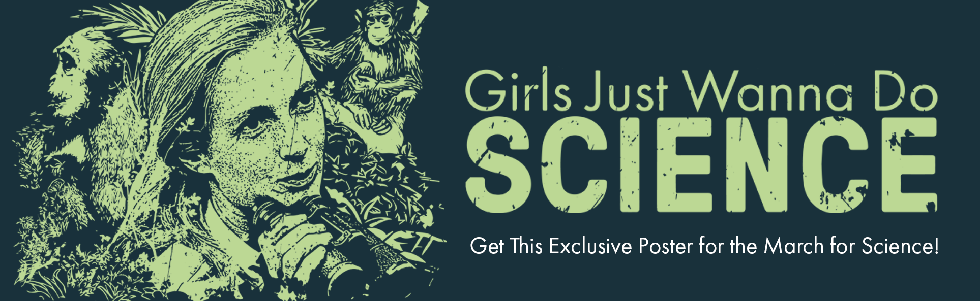 Get an Exclusive Jane Poster for the March for Science!