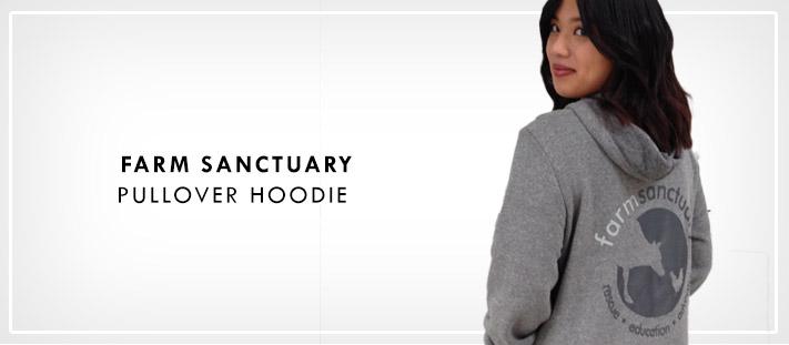 Farm Sanctuary Logo Pullover Hoodie
