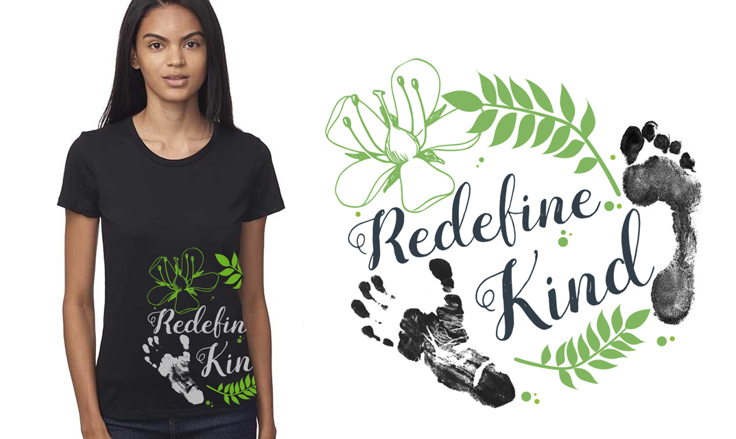 Shop our Redefine Kind Tees