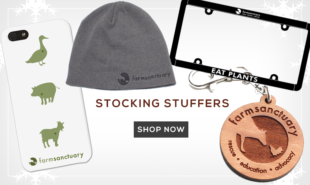 Farm Sanctuary Stocking Stuffers