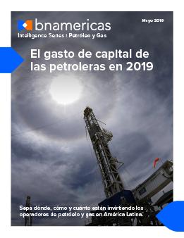 El gasto de capital de las petroleras en 2019