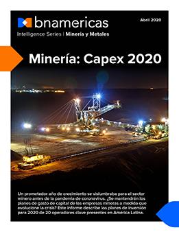 Minería: Capex 2020