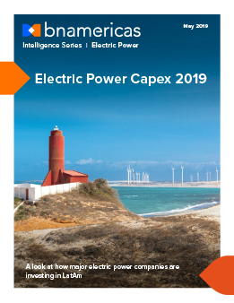 Electric Power Capex 2019