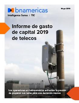 Informe de gasto de capital 2019 de telecos