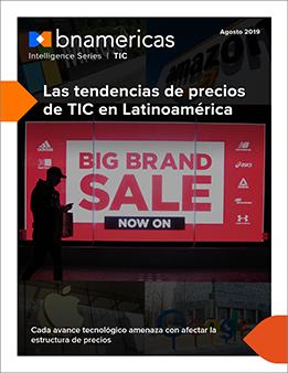 Las tendencias de precios de TIC en Latinoamérica