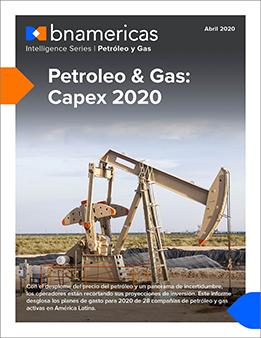 Petróleo y Gas: Capex 2020