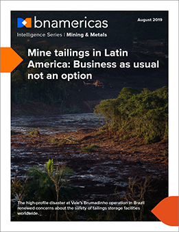 Mine tailings in Latin America: Business as usu...