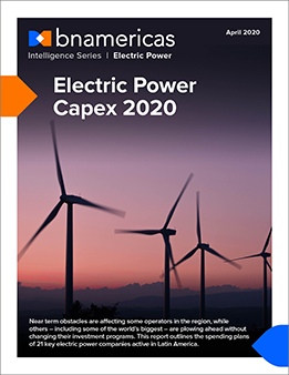 Electric Power Capex 2020