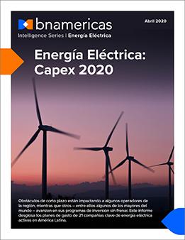 Energía Eléctrica: Capex 2020