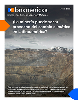 La minería puede sacar provecho del cambio clim...