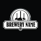 brewery logo in blue