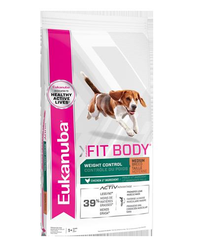 Picture of Eukanuba Lifestage Weight Control Medium Breed Formula - 30 lb.