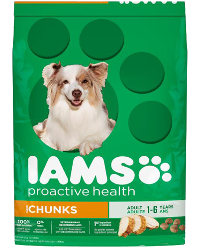 Picture of Iams ProActive Health Adult Chunks - 15 lbs.