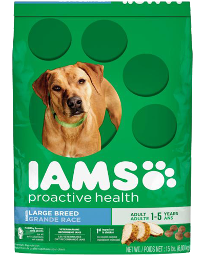 Picture of Iams ProActive Health Adult Large Breed - 15 lbs.