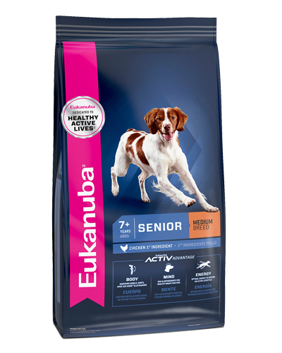 Picture of Eukanuba Lifestage Senior Medium Breed Maintenance Formula - 30 lb.