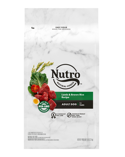 Picture of Nutro Wholesome Essentials Adult Pasture-Fed Lamb & Rice - 5 lbs.