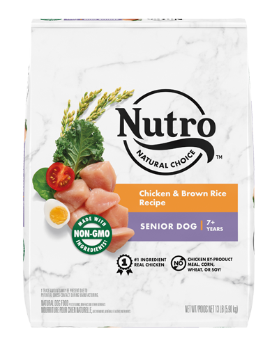 Picture of Nutro Wholesome Essentials Senior Farm-Raised Chicken, Brown Rice, & Sweet Potato - 15 lbs.