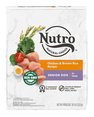 Picture of Nutro Wholesome Essentials Senior Farm-Raised Chicken, Brown Rice, & Sweet Potato - 30 lbs.