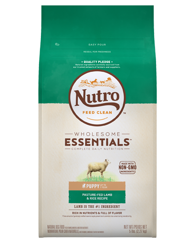 Picture of Nutro Wholesome Essentials Puppy Pasture-Fed Lamb & Rice - 5 lbs.