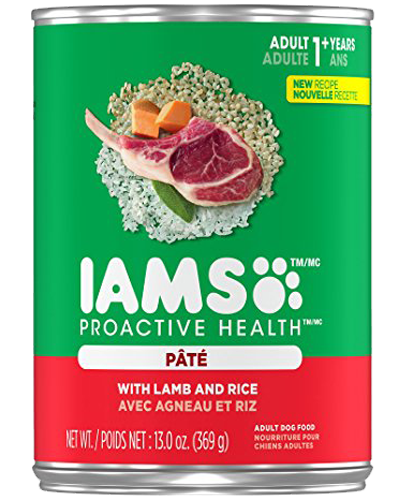Picture of Iams ProActive Health with Lamb and Rice Pate - 13 oz.