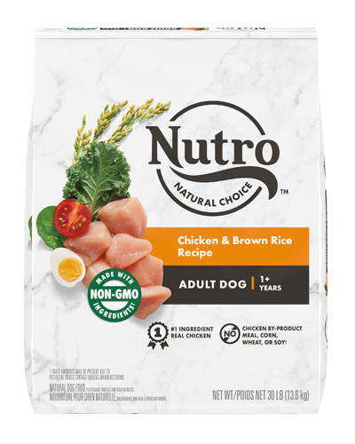Picture of Nutro Wholesome Essentials Adult Farm-Raised Chicken, Brown Rice, & Sweet Potato - 30 lbs.