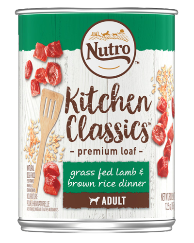 Picture of Nutro Kitchen Classics Adult Grass Fed Lamb & Brown Rice Dinner - 12.5 oz.