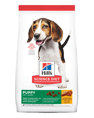 Picture of Hill's Science Diet Puppy Chicken Meal & Barley Recipe Dry Dog Food - 15.5 lbs.