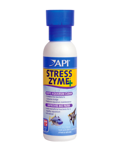 Picture of API Stress Zyme Plus Freshwater & Saltwater Cleaner - 4 oz