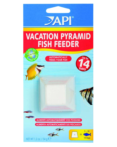 Picture of API 14 Day Vacation Pyramid Fish Feeder