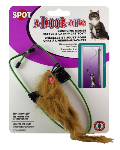 Picture of Ethical Spot A-Door-Able Bouncing Mouse with Catnip